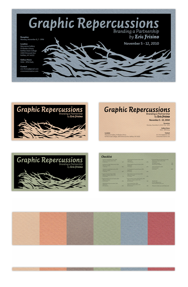 Graphic Repercussions Poster, Postcard, & Hand Card