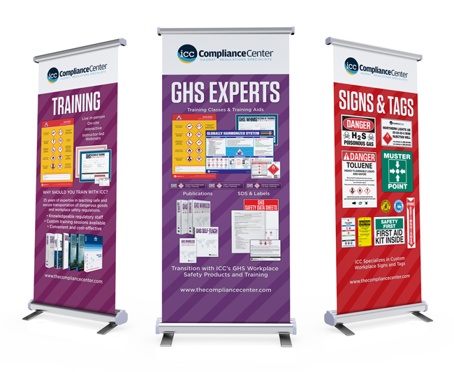 Training, GHS Experts, & Signs & Tags Banners